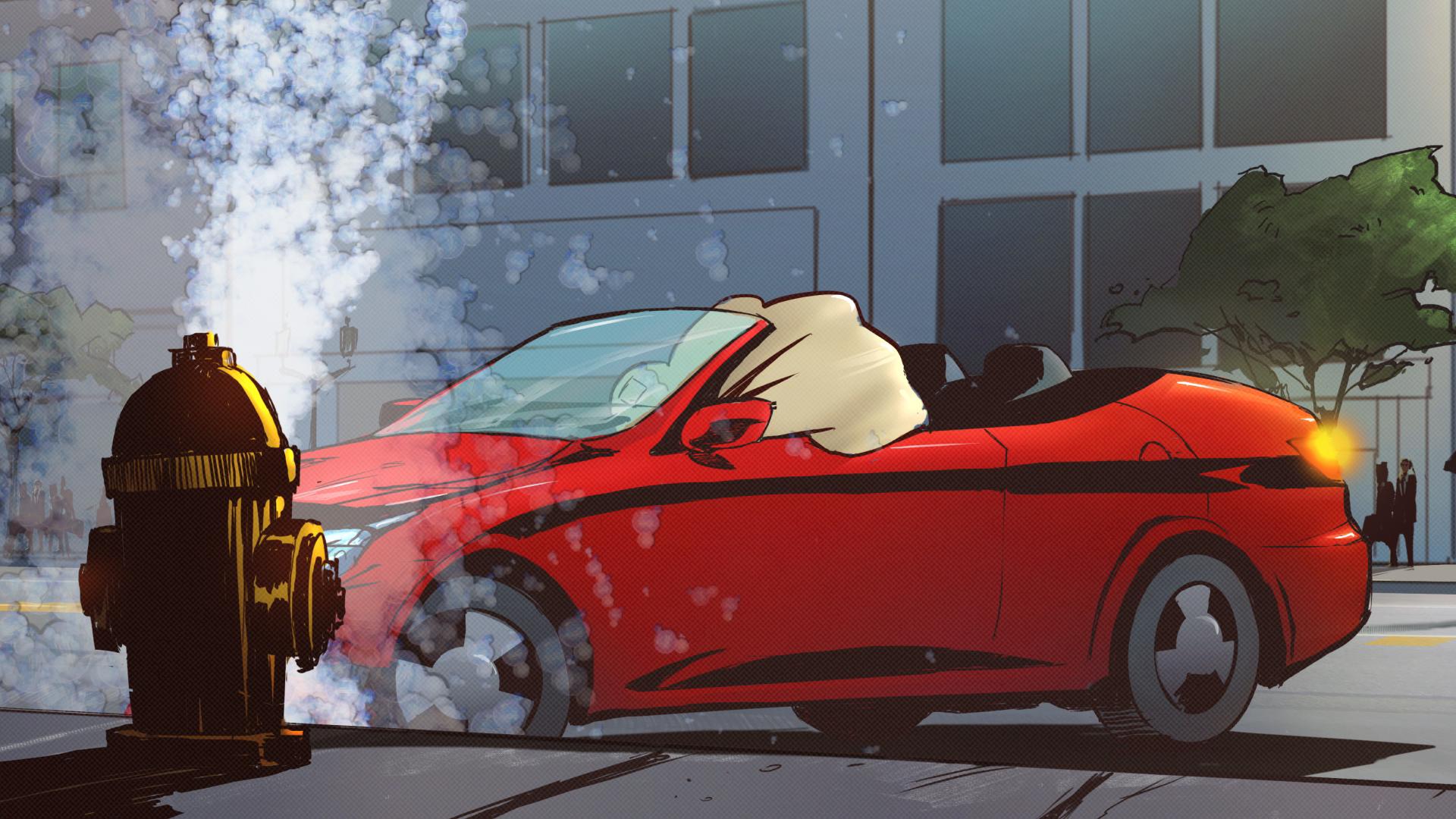 Hamilton Just Drive Animated Video